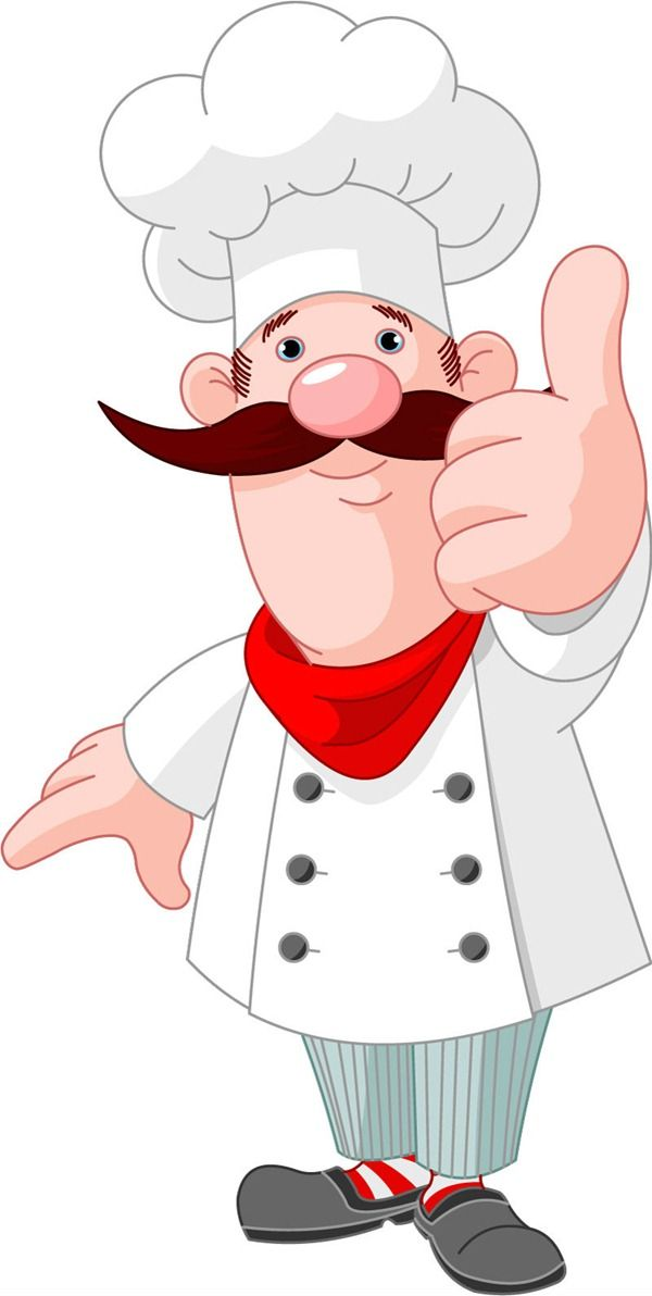 Top cartoon chef clip art images for clipartcow.