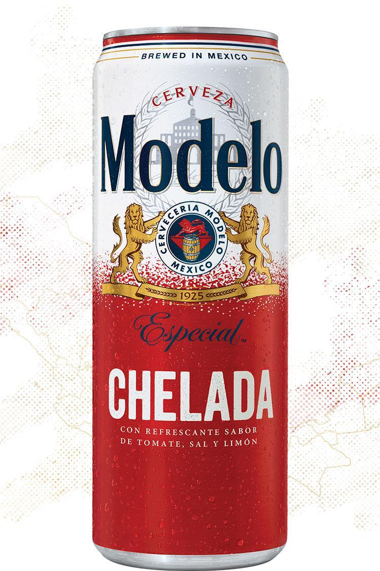 Modelo Chelada Especial.