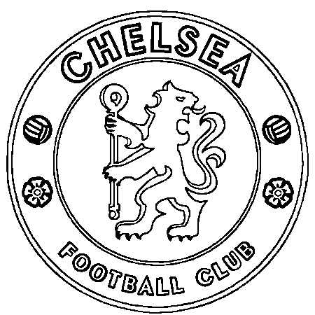 Chelsea badge clipart.