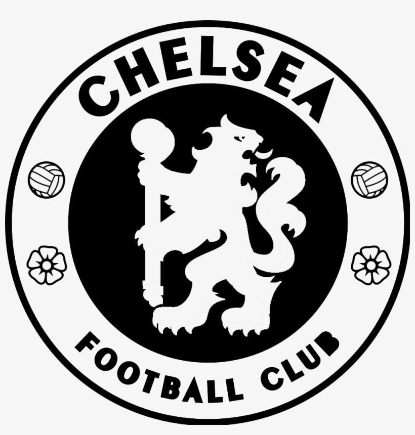 Chelsea Fc Logo Black And White.