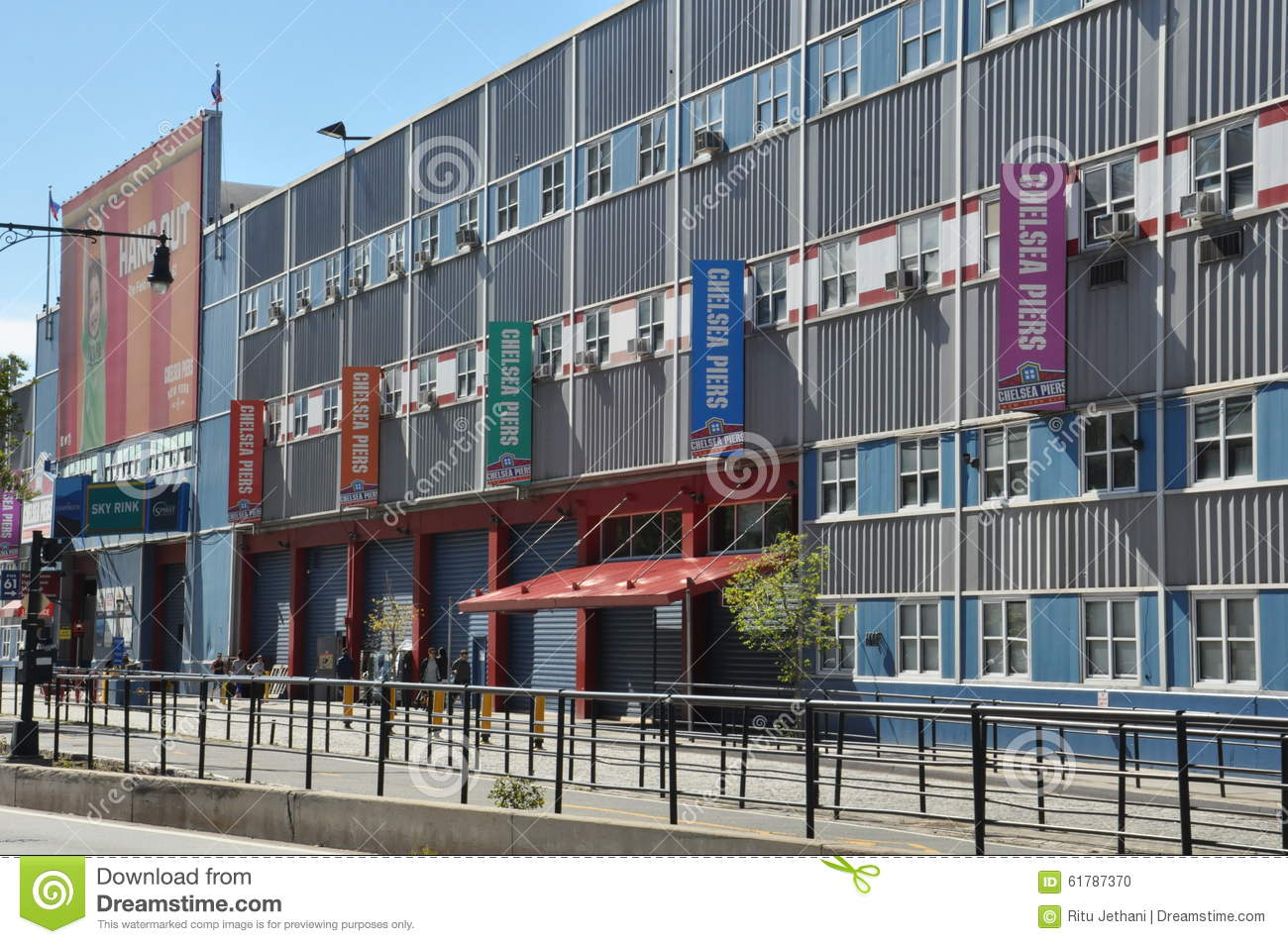 The Chelsea Piers Sports & Entertainment Complex In Manhattan.