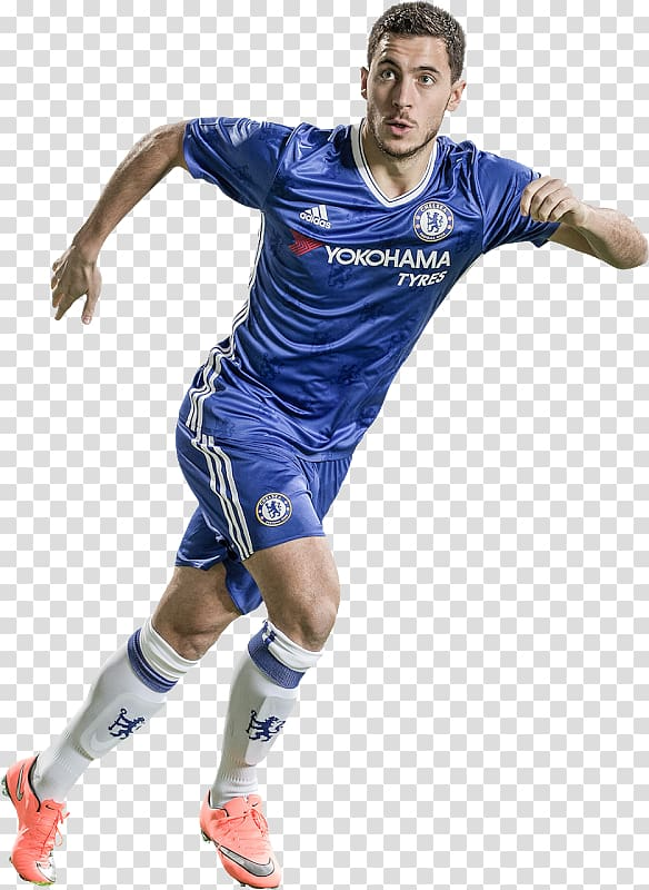 Men's blue Chelsea FC jersey, Eden Hazard FIFA 17 FIFA 18 Chelsea.