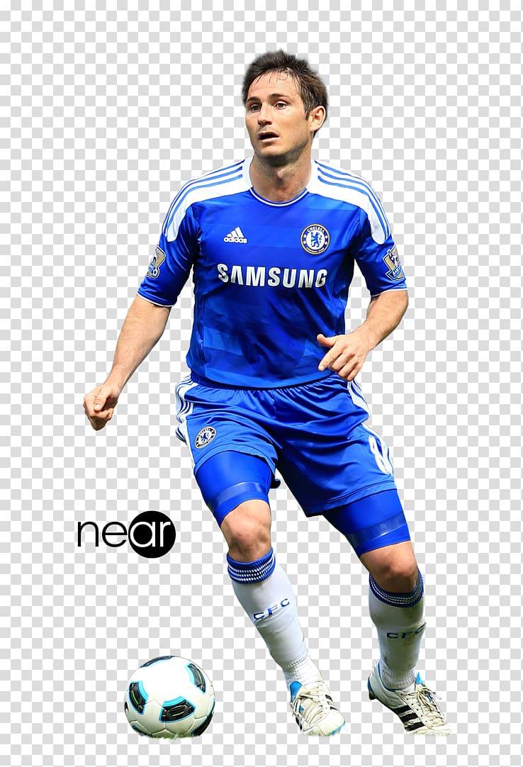 Frank Lampard Chelsea F.C. UEFA Champions League Jersey, football.