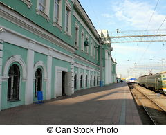 Stock Image of Chelyabinsk railway station csp4441676.