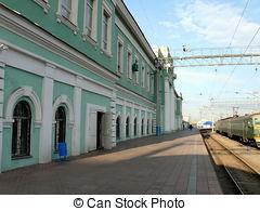 Stock Image of Chelyabinsk railway station csp4441676.