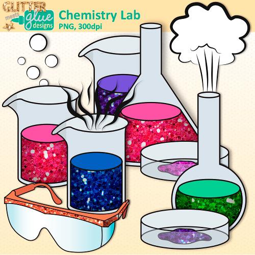Chemistry Lab Clip Art.