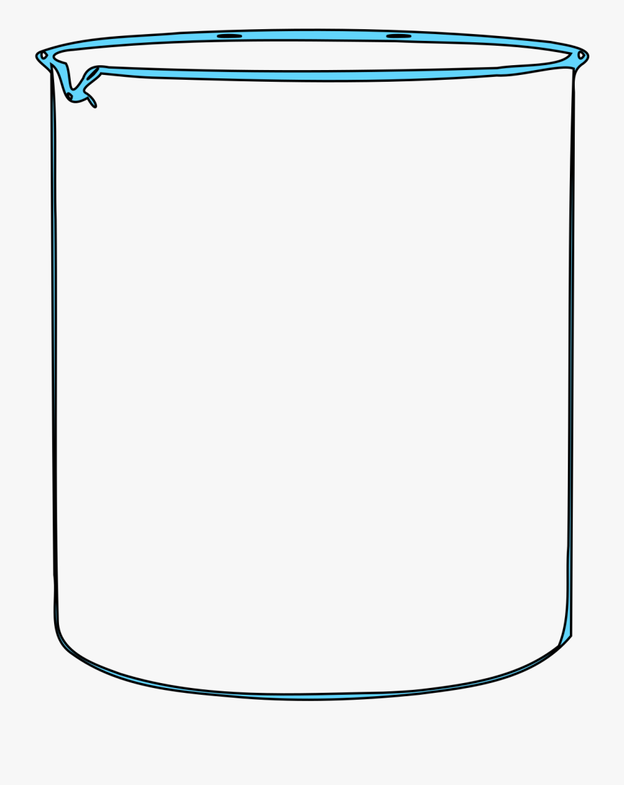Graphic Transparent Stock Clipart Beaker.