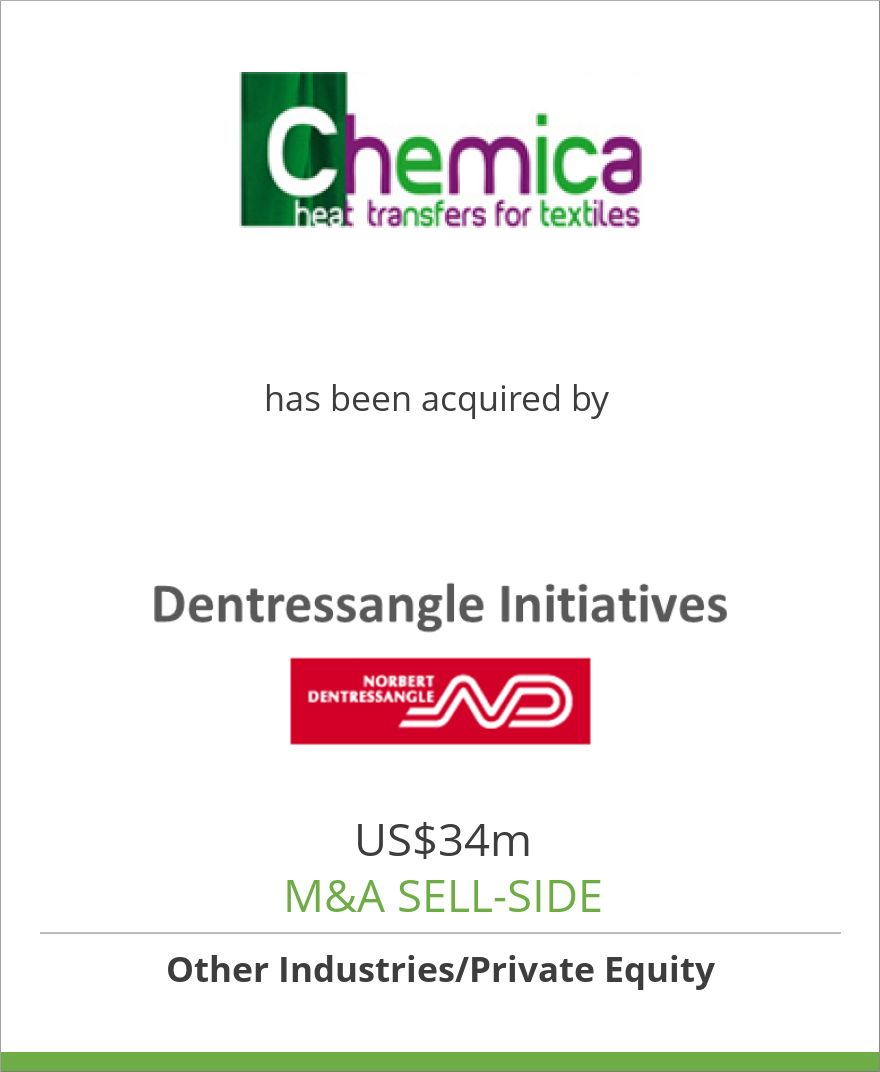 Chemica has been acquired by Dentressangle Initiatives SAS.