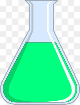 Chemical Bottle Clipart.