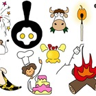 Chemical and Physical Change Clip Art Collection.