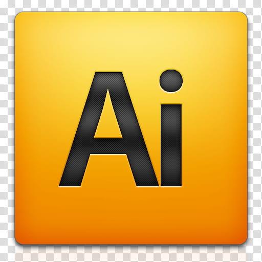 Adobe CS mini icon set, Illustrator, Ai chemical element transparent.