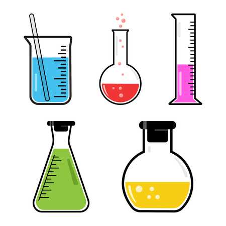 466 Volumetric Flask Stock Vector Illustration And Royalty Free.