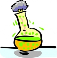 Chemical reaction clipart #10