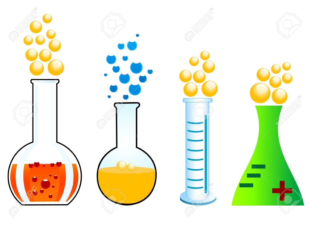 Chemical reaction clipart 1 » Clipart Station.