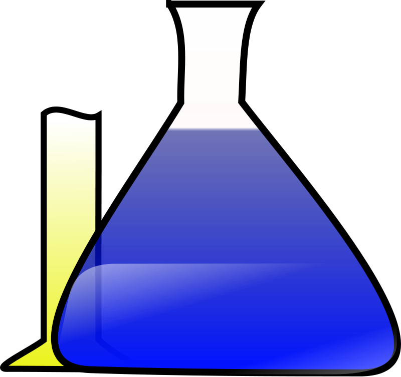 Free Clipart: Chemical Science Experiment.