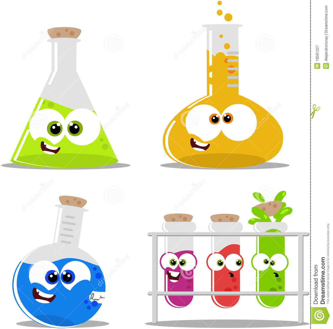 chemical solution clipart