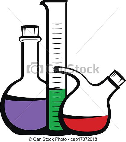 Vector Clip Art of Chemistry icon csp17072018.