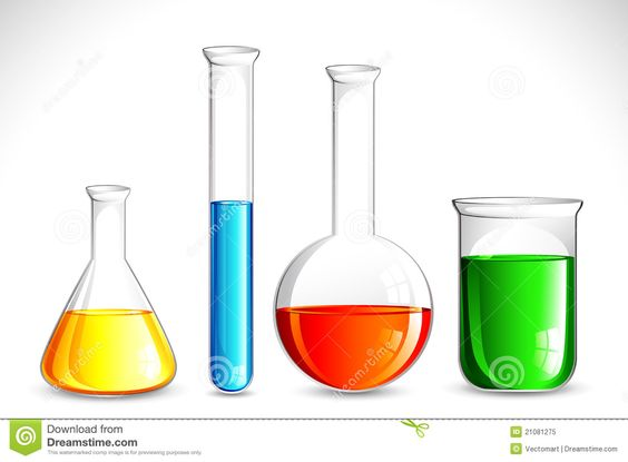 Chemical solution clipart #5
