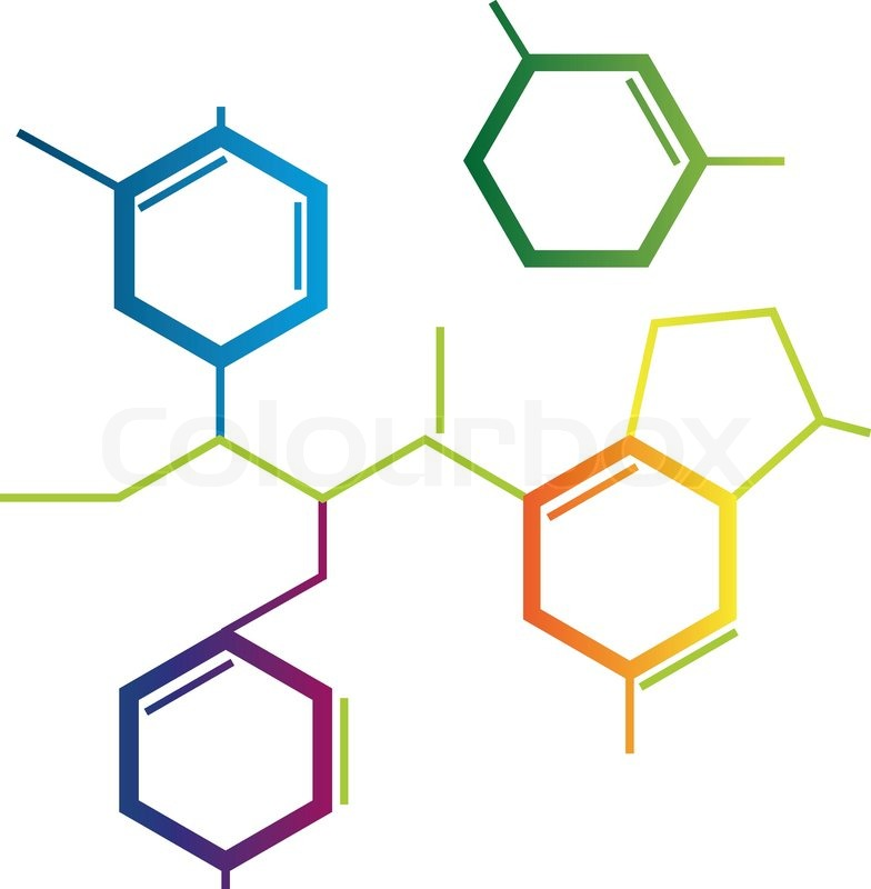 Chemical structure clipart #15