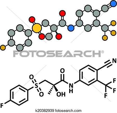 Chemical structure clipart.