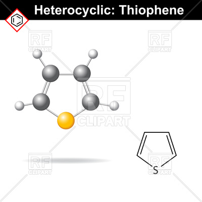 Chemical structure clipart #10