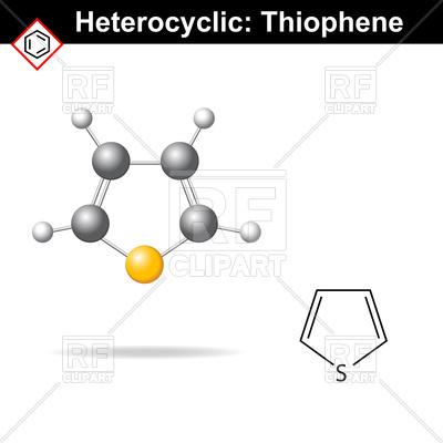 Thiophene.