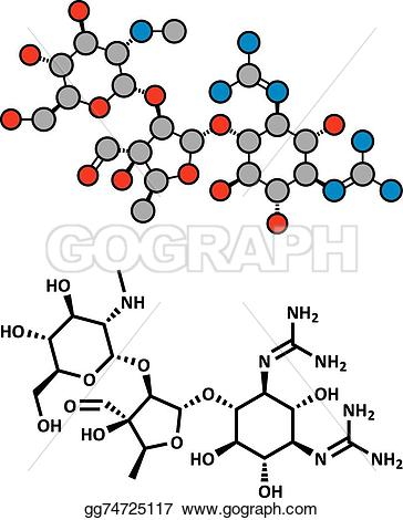 Chemical structure clipart #4