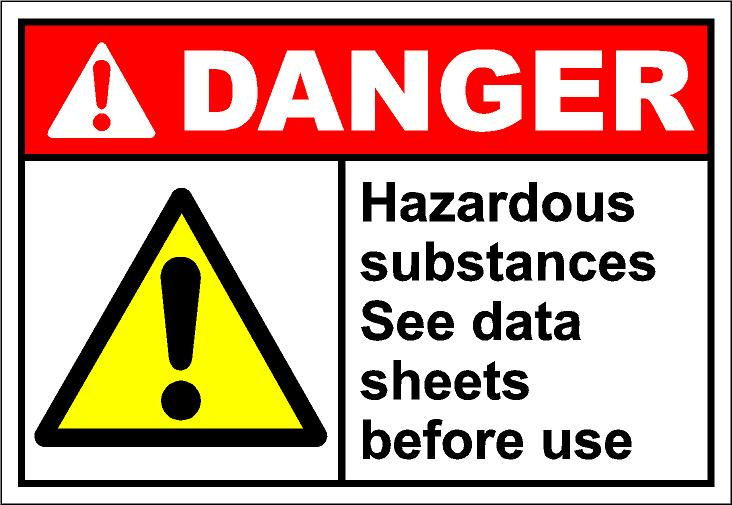 Wafting chemicals clipart.