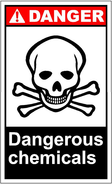 Hazardous Chemical Clipart.