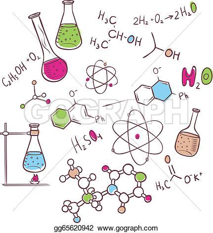 Organic Chemistry Clip Art.
