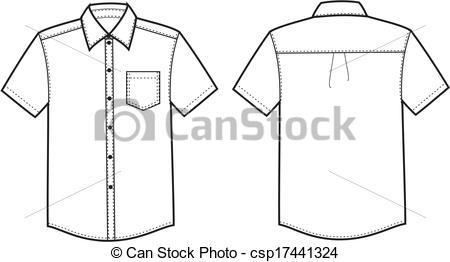 Illustration Vecteur de chemise.