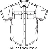 man with something under shirt clipart #4