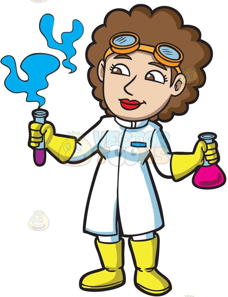 Female chemist clipart 5 » Clipart Portal.
