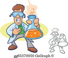 Chemist Cartoon Clip Art.