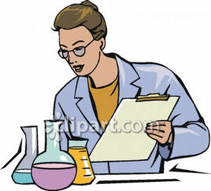 Free clipart chemist.