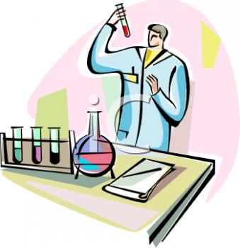 Chemist cliparts.