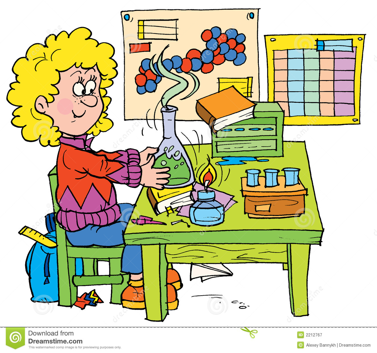 Chemistry clip art download.