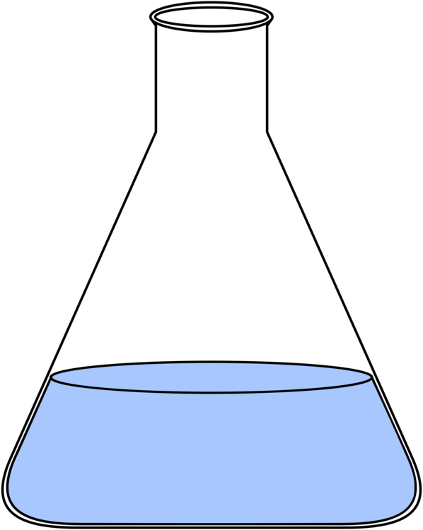 Line,Angle,Laboratory Flask Vector Clipart.