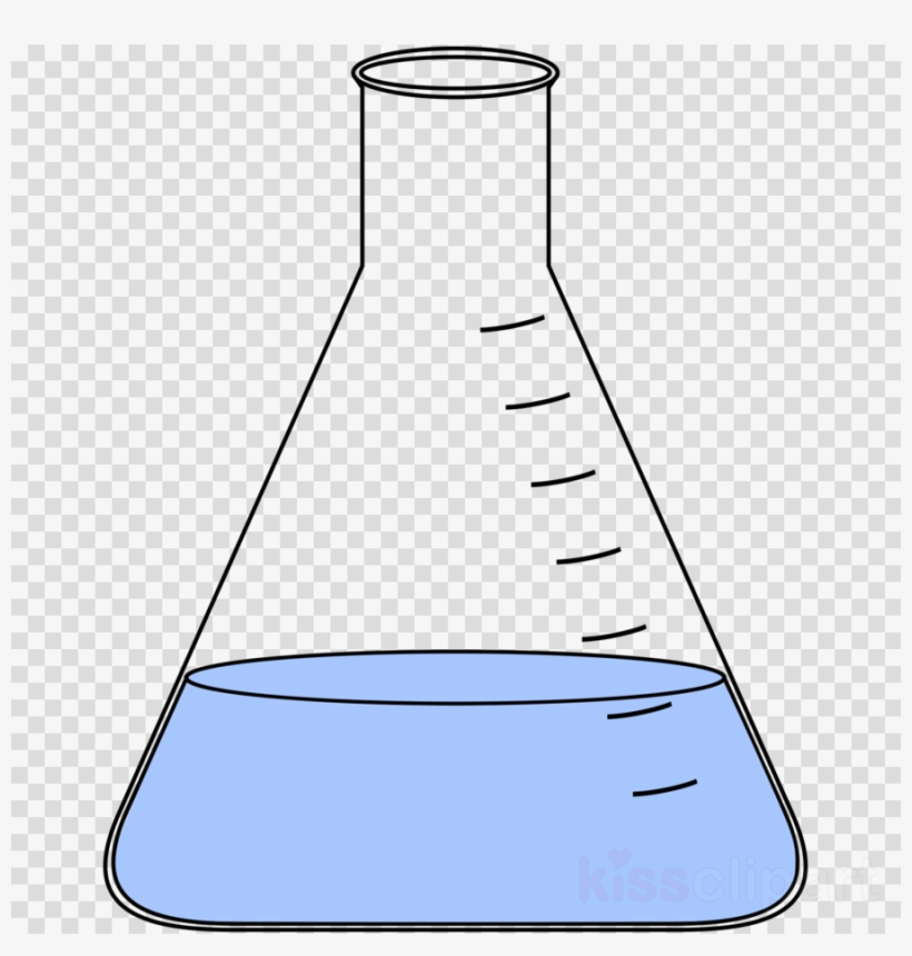 Chemistry Flask Clipart Laboratory Flasks Erlenmeyer Magnificient.