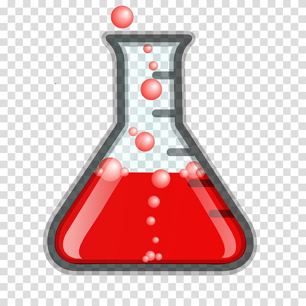 Beaker Laboratory Flasks Erlenmeyer flask , chemistry icon.