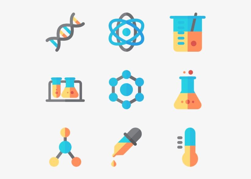 Chemistry 50 Icons.