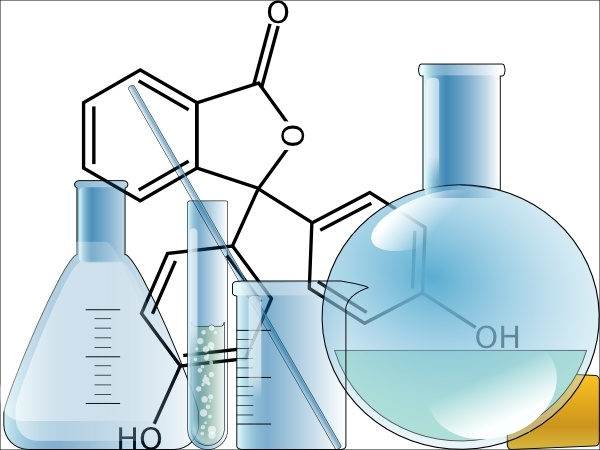 Chemistry Lab clip art Free vector in Open office drawing.