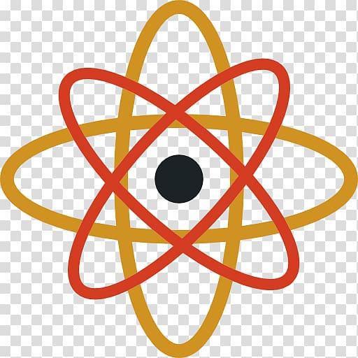Chemistry Logo Science, atomic transparent background PNG.