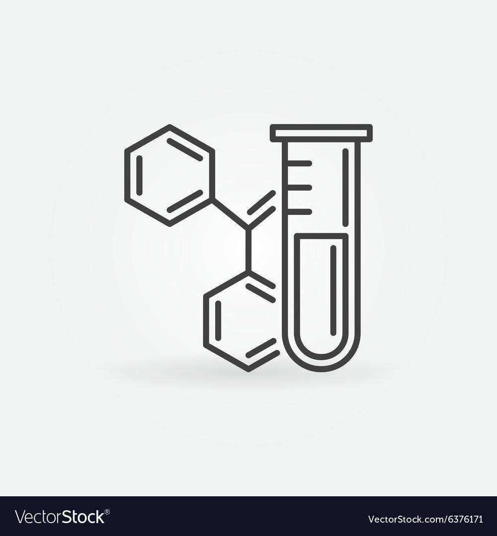 Chemistry icon or logo.