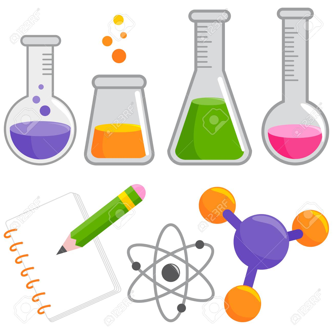 Science and chemistry set..