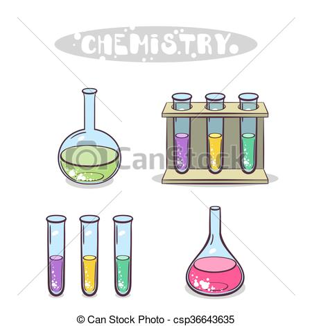 Chemistry Isolated On White.