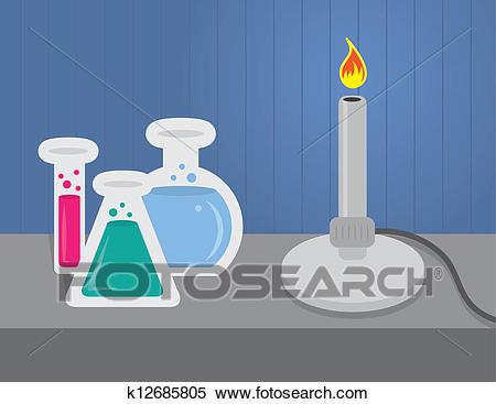 Chemistry Set Clipart.