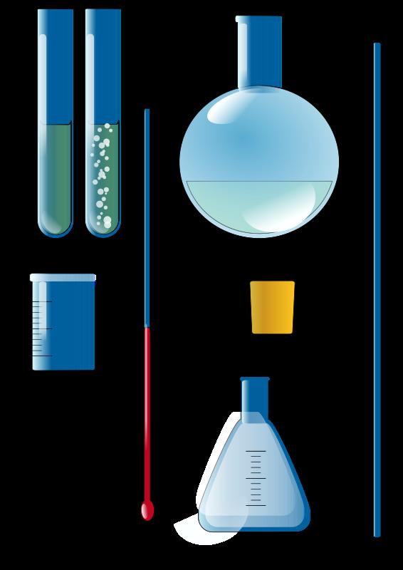 Free Clipart: Chemistry set.