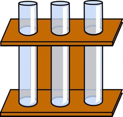 Chemistry Test Tubes Clipart.
