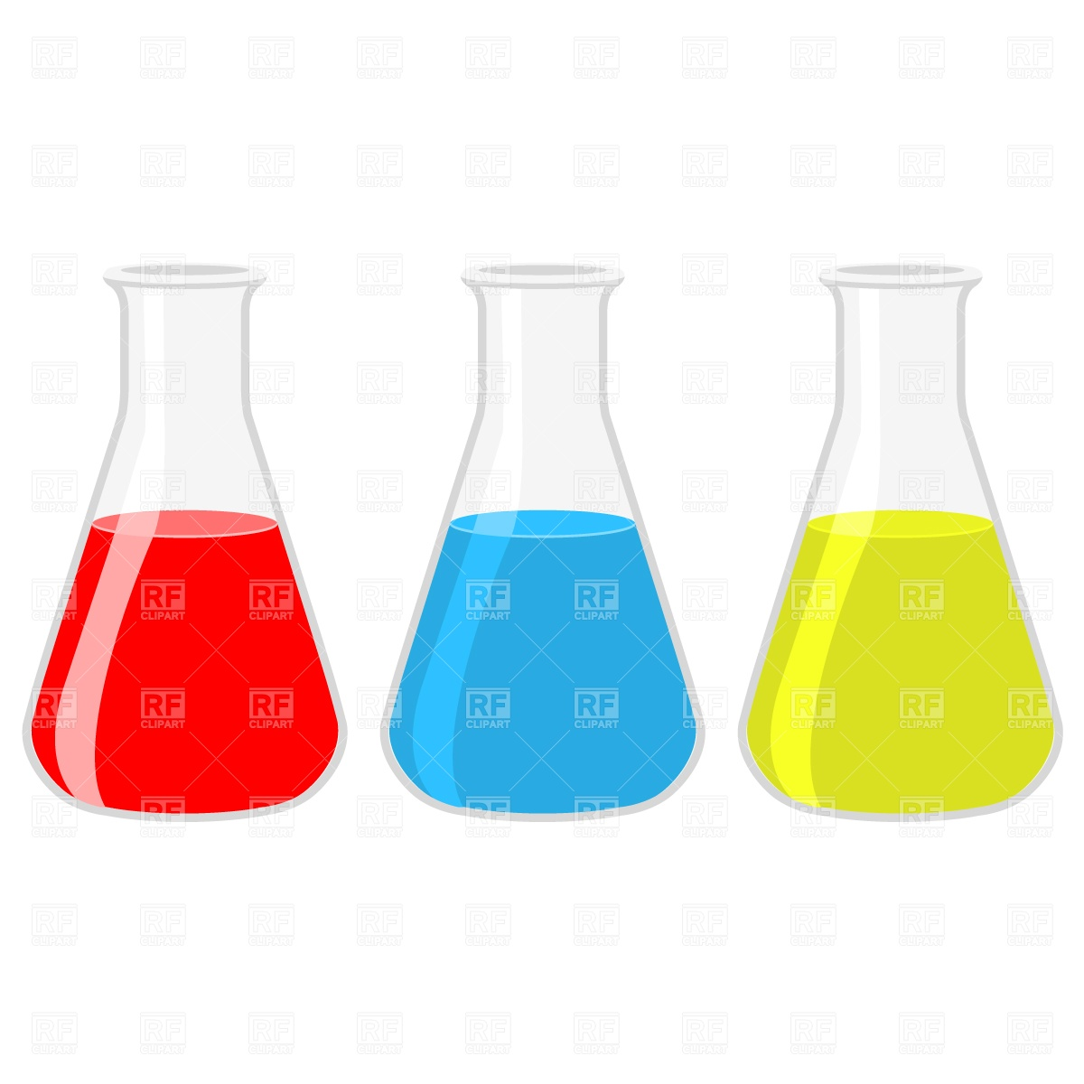 Science Experiment Test Tubes Clipart.